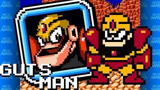 Mega Man Revised - Guts Man theme (Mountain Mines)