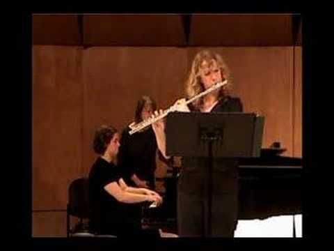 Hindemith Flute Sonata (Mov. 3) Featuring Emily Moore