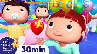 ABC Song - Learn The Alphabet | +More Nursery Rhymes & Kids Songs | ABCs and 123s | Little Baby Bum