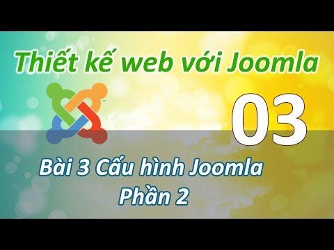 Joomla - 02 Cau hinh he thong Joomla P2