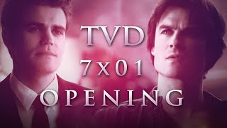 The Vampire Diaries Season 7 Episode 1 Opening