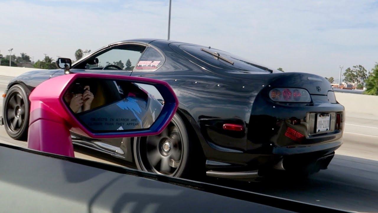480f66a51a06 Toyota Supra vs. Lamborghini Huracan - YouTube