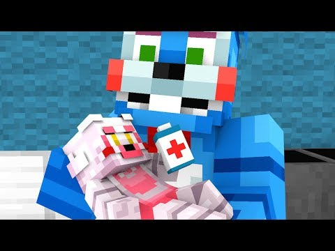 Top 5 FNAF Baby Operations - Minecraft Animation