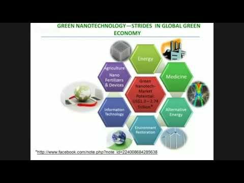 Dr. Kattesh V. Katti; Green Nanotechnology—A Symbiosis Between Nanotechnology, Agriculture and Me...