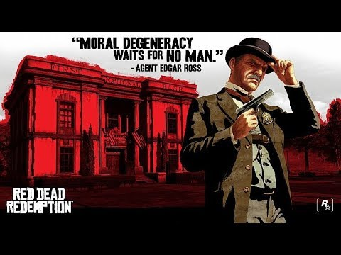 "Image result for Edgar Ross villain ""Red Dead Redemption"""