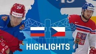 Russia - Czech Republic | Highlights | #IIHFWorlds 2017