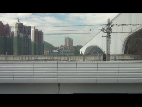 【車窓】中国 深圳地下鉄竜華線(福田口岸→深圳北)ノーカット china shenzhen metro