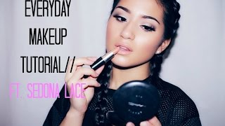 Everyday Makeup Tutorial// Ft. Sedona Lace