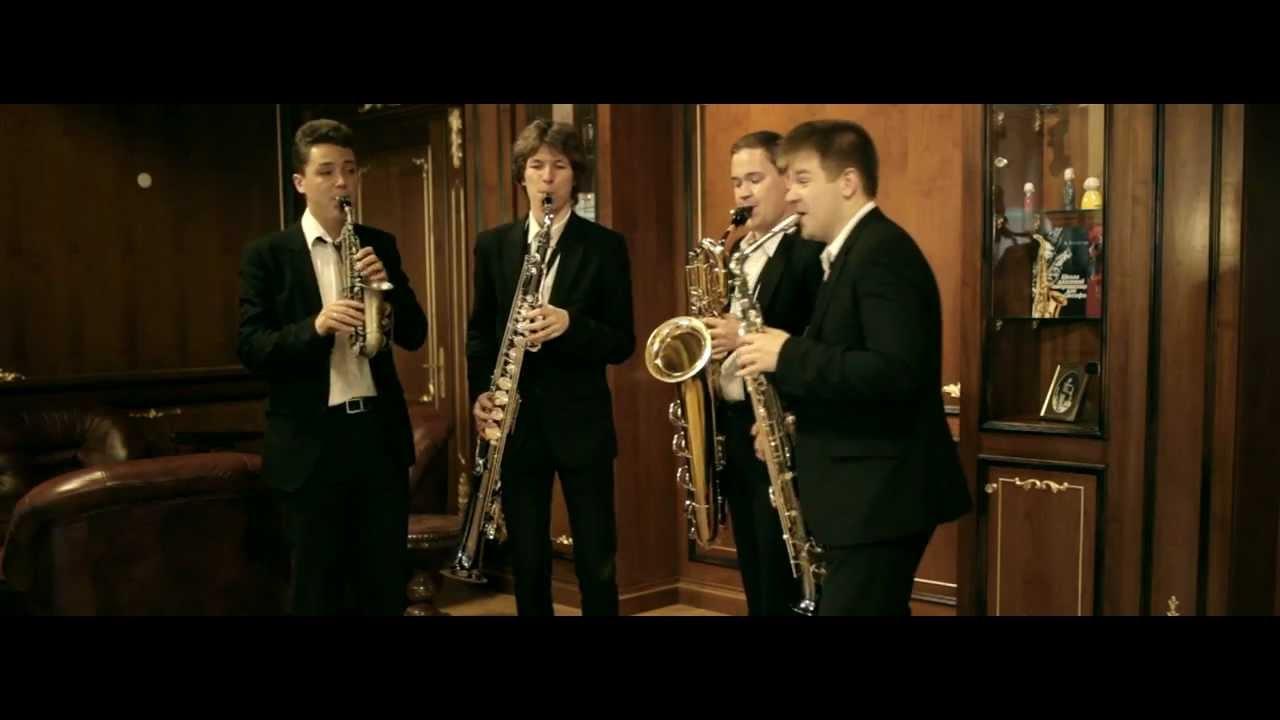 Russian Saxophone Quartet. Cuba