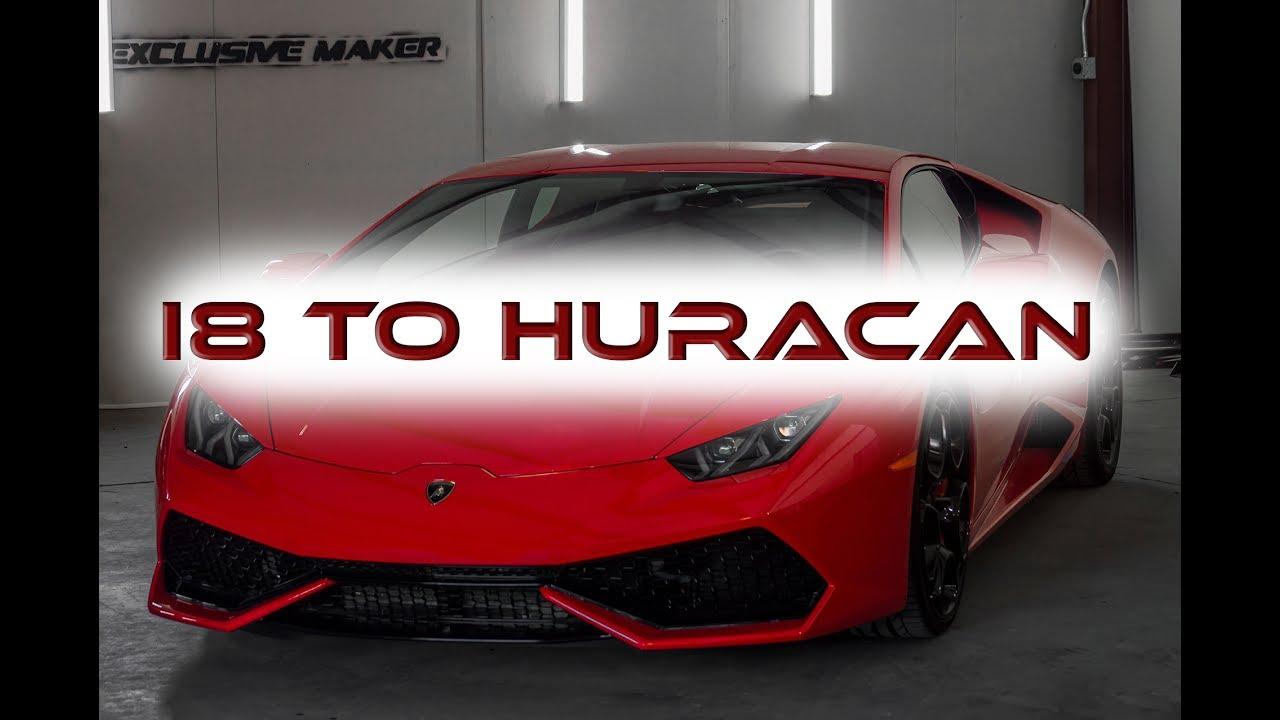 Bmw I8 To Lamborghini Huracan Youtube