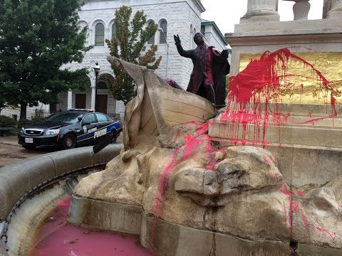 Residents React To Francis Scott Key Statue Vandalism | Baltimore Sun