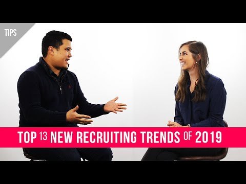 Top 13 New Recruitment Trends of 2019 | Hiring Made Simple