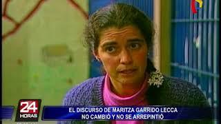 Maritza Garrido Lecca: a 25 años de su captura no da señales de arrepentimiento