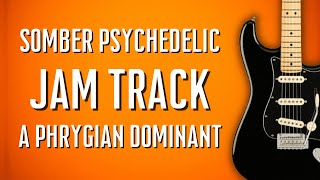Somber Psychedelic Ballad Backing Track Jam in A Phrygian Dominant