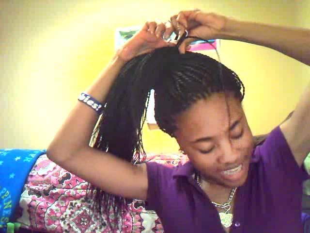 Senegalese Twist Bun Tutorial Youtube