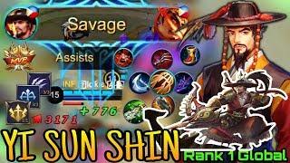 TOB GLOBAL Yi Sun Shin Easy SAVAGE and BUILD