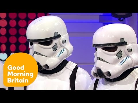 Piers Morgan Insults Star Wars Dance Group Boogie Storm! | Good Morning Britain