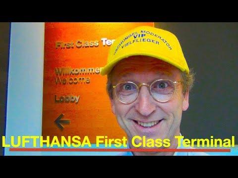 LUFTHANSA FIRST CLASS | NEU | TERMINAL Lounge | Airport Frankfurt | HON Circle V.I.P.