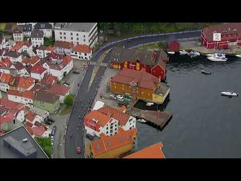 HELICOPTER VIEW - LAST 4km - Bergen 2017 UCI  Road World Championships