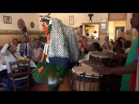 Babanusa Sudanese Restaurant Dance