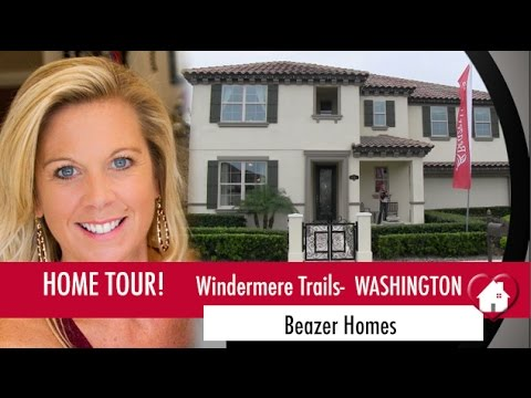 New Homes Windermere Winter Garden Florida Washington Model by Beazer