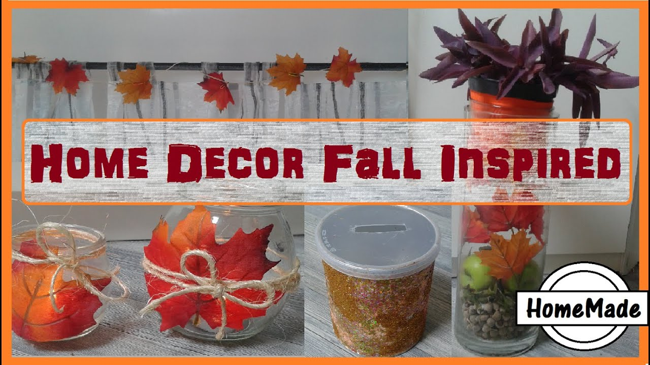 Decorazioni Per L Autunno home decor fall inspired - decorazioni casa per l'autunno fai da te -