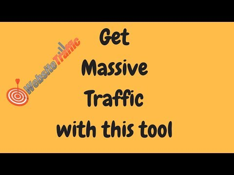 How to get massive Traffic to your online business and create a passive income