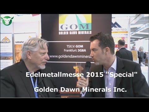Stock-Telegraph.com vom 16.11.2015 mit Golden Dawn Minerals Inc.