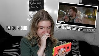 "Calum Scott: ""You Are The Reason"" Music Video REACTION 
