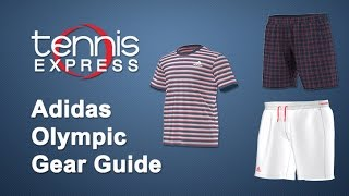 Adidas Mens Red, White And Blue Gear Guide | Tennis Express