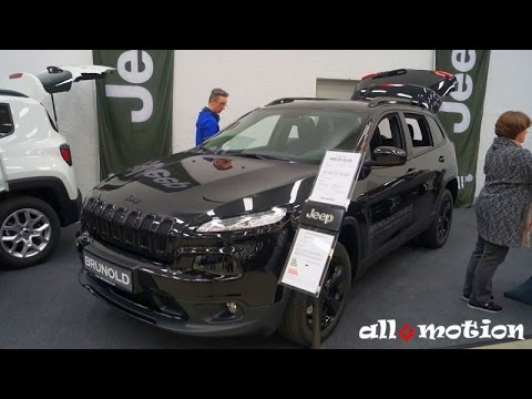 2016 Jeep Cherokee Longitude Night Eagle 2.2L MultiJet 4WD @ Autosalon Sindelfingen
