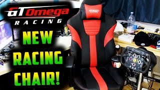 MY NEW F1 RACING GAMING CHAIR GT Omega Master XL Review