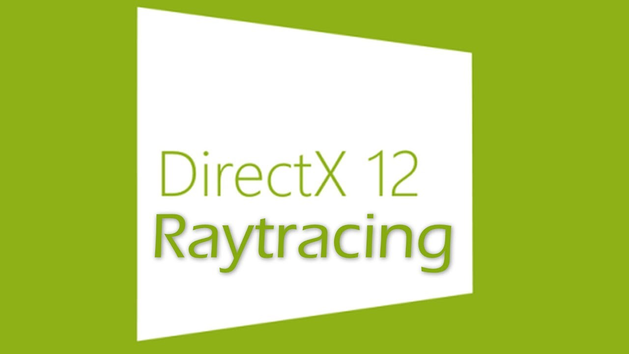 Ray tracing nvidia DirectX 12