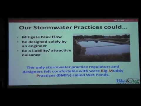 Applied Research, Informed Design Standards for Storm Water Management