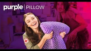 The Purple® Pillow: The First Bed for Your Head! 💤 🔬 🛌 thumbnail