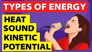 Types of Energy | Different forms of energy | Physics