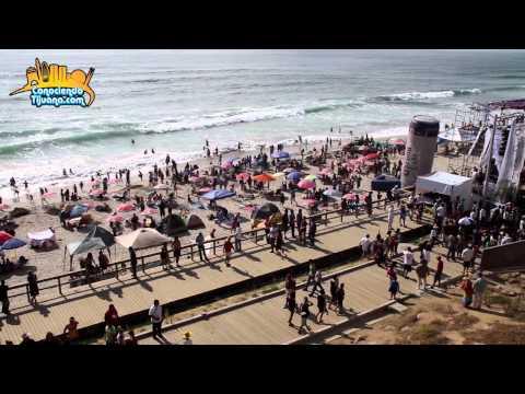 Tijuana en la playa