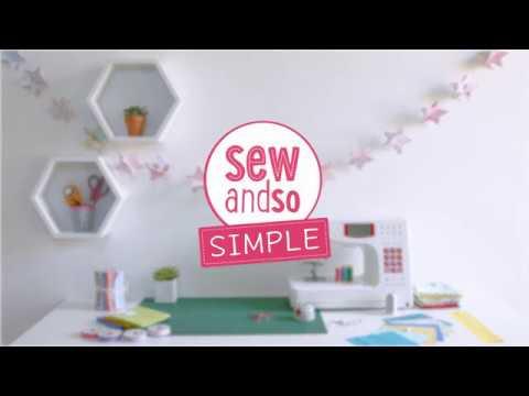 Easy Paper Star Garland | SewandSo Simple
