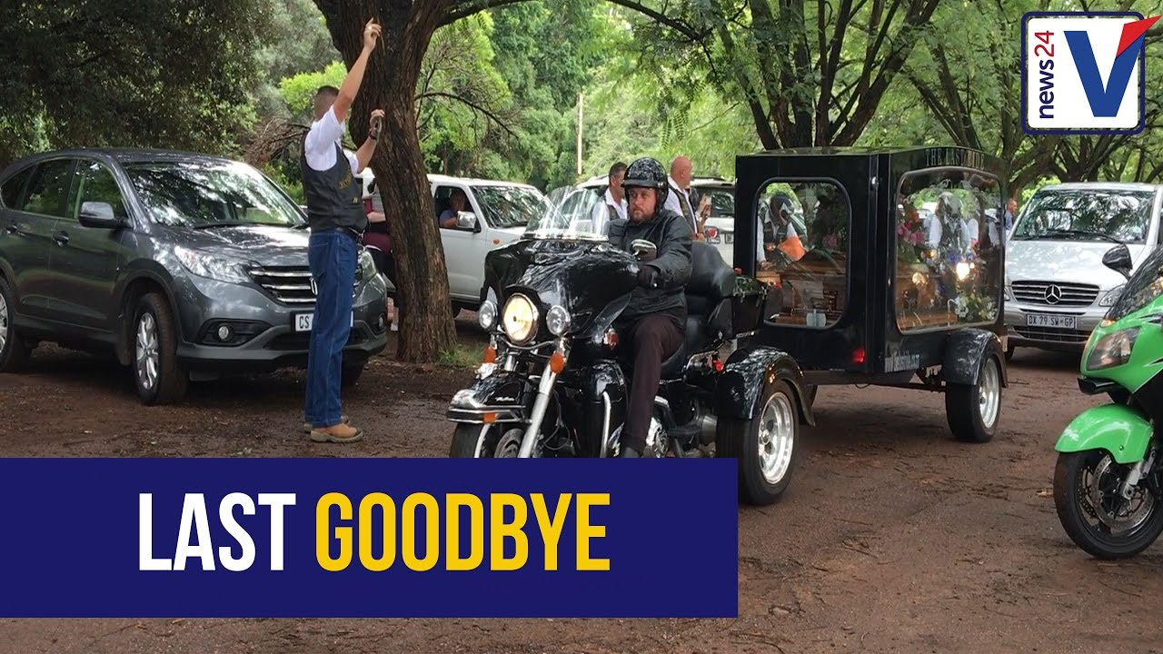WATCH: Final goodbye for biker killed in N1 accident | News24