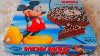 Unboxing Mickey Mouse Cake / пирог / เค้ก / 蛋糕 / ケーキ / 케이크 /gâteau / Bolo
