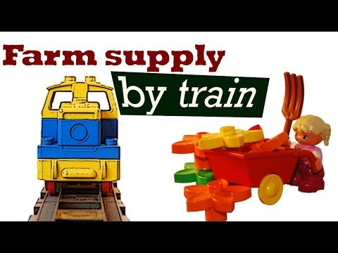 Duplo Farm Supply – By Train