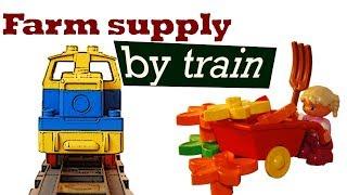 Duplo Farm Supply – By Train