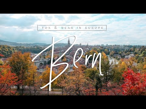 EUROTRIP VLOG: Walking Around Bern, Switzerland | Fox & Bear