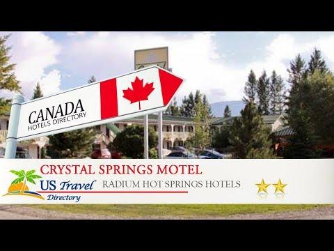 Crystal Springs Motel - Radium Hot Springs Hotels, Canada