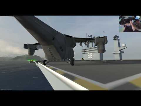 VTOL VR - How to Fly Tutorial! (And land on a Carrier!)