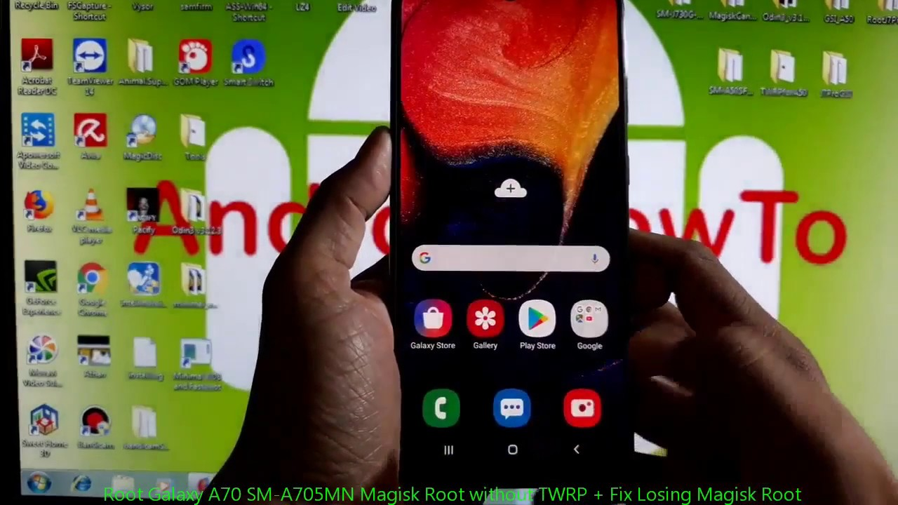 Root Galaxy A70 SM-A705MN Magisk Root without TWRP + Fix Losing Magisk Root