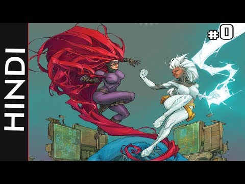 Inhumans Vs X-men--Episode 00 !!Introduction!! / Marvel Comics in Hindi
