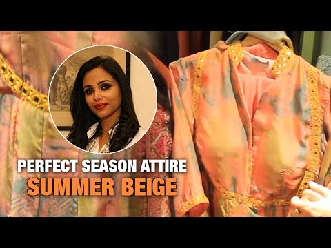 Summer Beige : A Perfect Start To Season | The Ethnic Attire