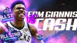 All Star Team Wager vs CashNasty! Team LeBron vs Team Giannis! NBA 2K19 MyTeam