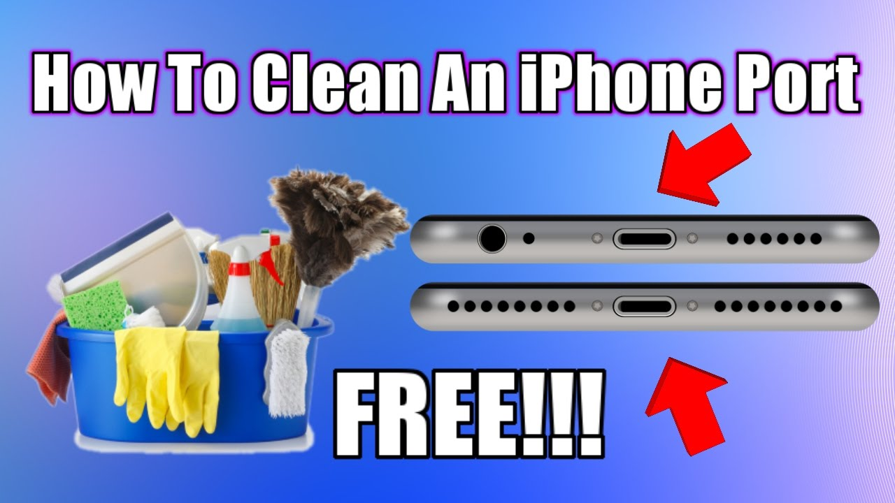How To Clean Charging Port On Iphone